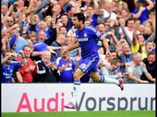 Costa on target again for Blues