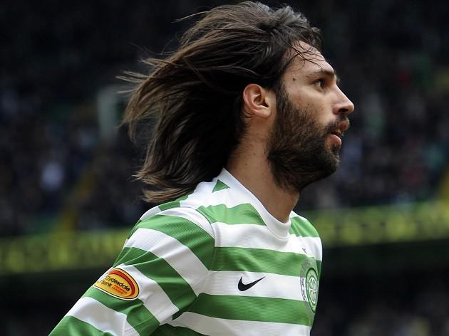 Celtic's Samaras not relishing Solitude's plastic pitch