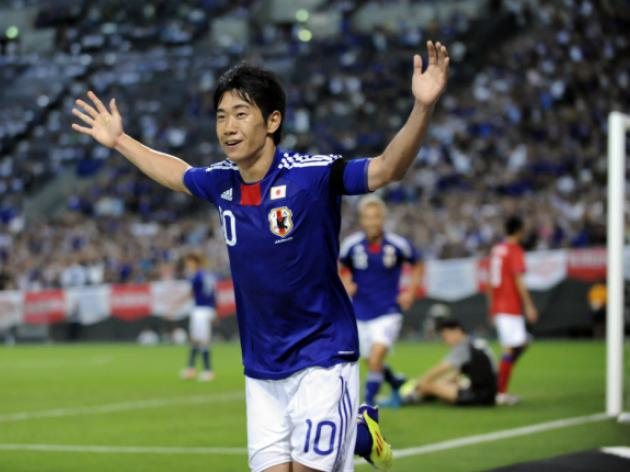 Kagawa breaks duck as Japan beat New Zealand 4-2