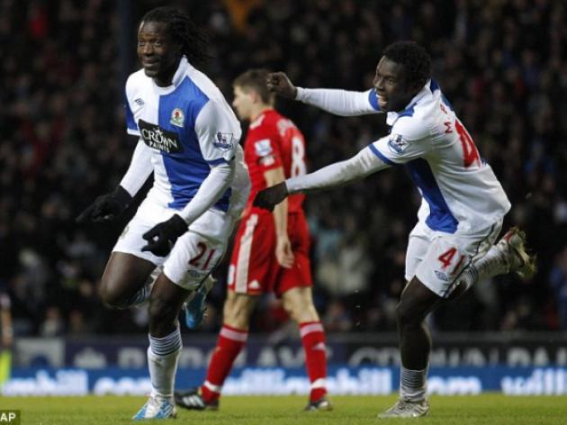 Blackburn 3 Liverpool 1: Roy Hodgson is deep fried by the Venky boys
