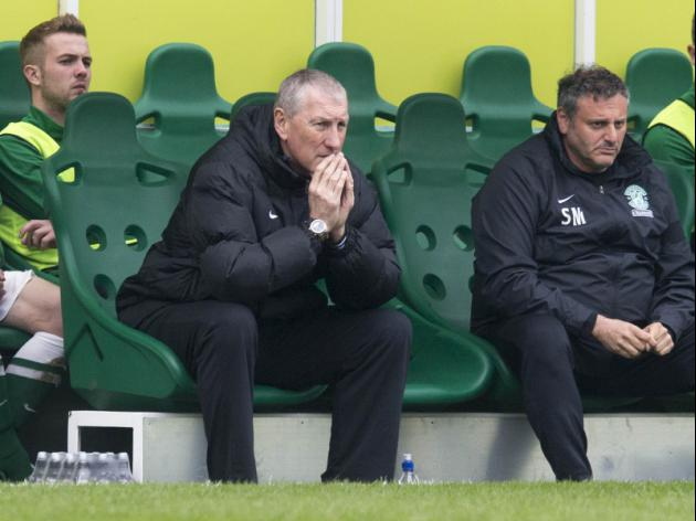 Hibs will beat drop, claims Butcher
