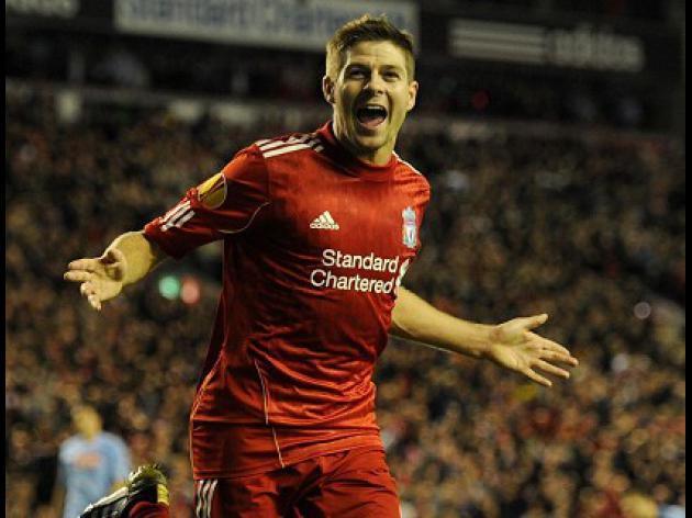 Hodgson hails hat-trick hero Gerrard
