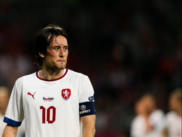 Sick Rosicky to miss Finland friendly