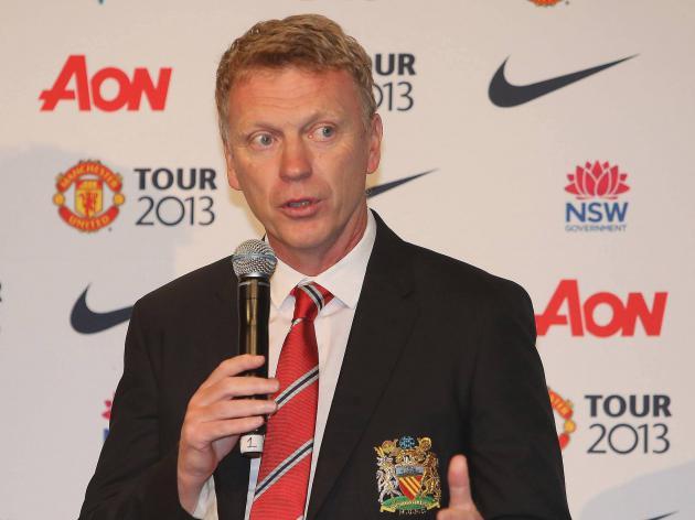Manchester United boss David Moyes seeks van Persie impact