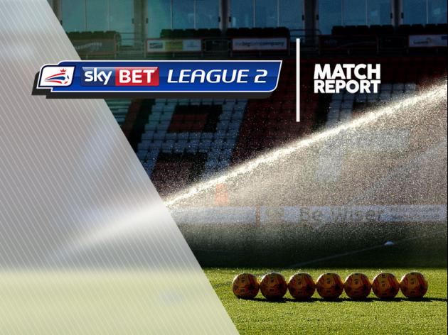 Chesterfield 1-2 Dag  Red: Match Report