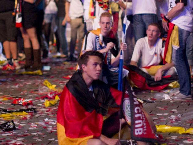 Fans in skirmishes: German police