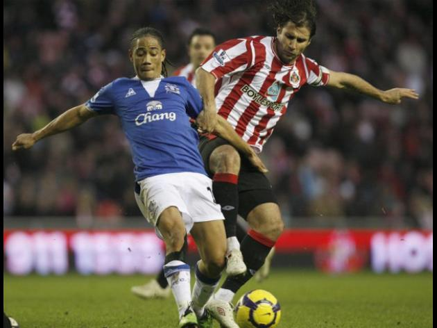 Sunderland 1-1 Everton - Match Report