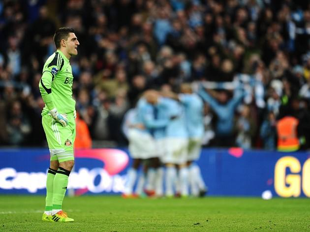 Mannone: City too hot to handle