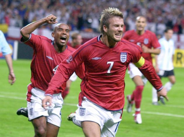 Top Five - England World Cup Performances