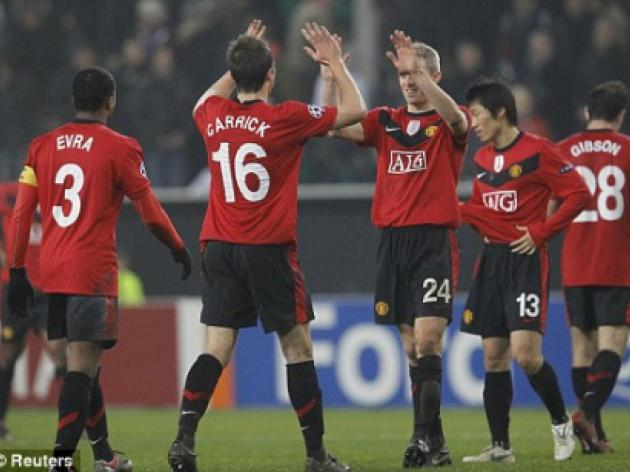 Defenders of the faith: A night in the life of a makeshift Manchester United rearguard