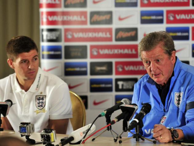Steven Gerrard and Roy Hodgson lead the battle cry