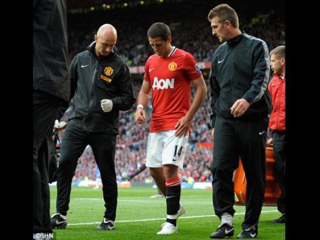 Stoke v MANCHESTER UNITED: Javier Hernandez and Danny Welbeck battle to start alongside Wayne Rooney