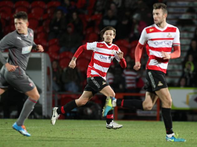 Doncaster 0-2 Derby: Match Report