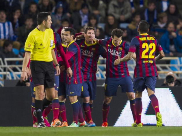 Barca out to maintain lead ahead of City clash