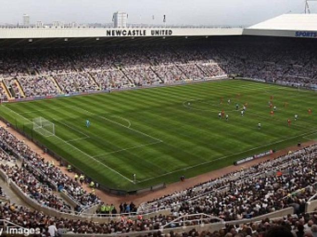 Fan banned from St. James' Park after admitting using abusive language