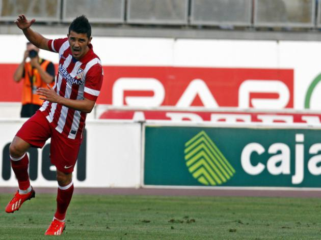 Atleticos Costa backs Villa to gun down Barca