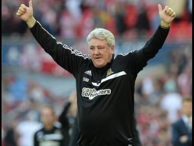 Steve Bruce: Pressure is all on Arsenal