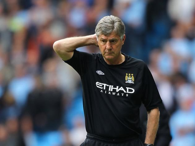 Manchester City intermin boss Brian Kidd pleased with fans' response