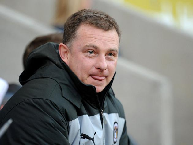 Mark Robins believes his side has a chance in the Johnstones Paint Trophy