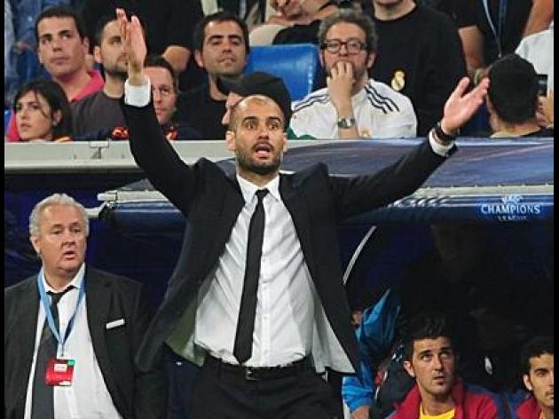 Barca at Real Madrid's mercy now, says Guardiola