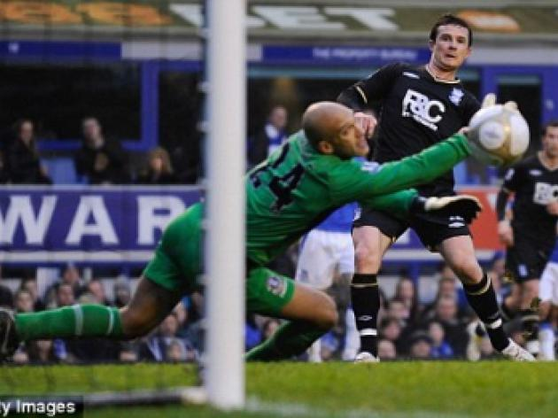 Everton 1 Birmingham 2: Fightback falls short as Brum march on