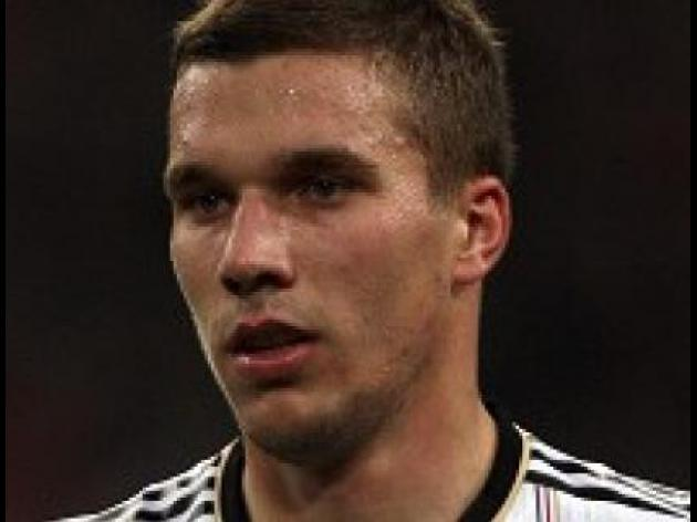 Podolski involved in car crash