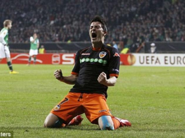 Man United linked with huge 35m summer bid for Valencia star Villa