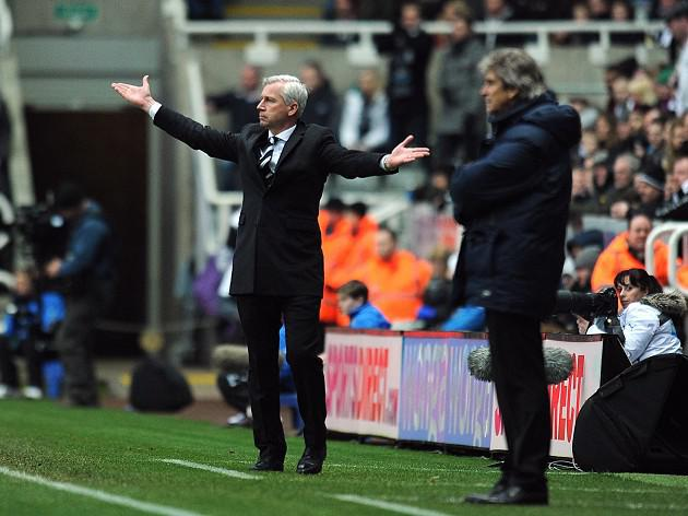 Pardew sorry for Pellegrini outburst