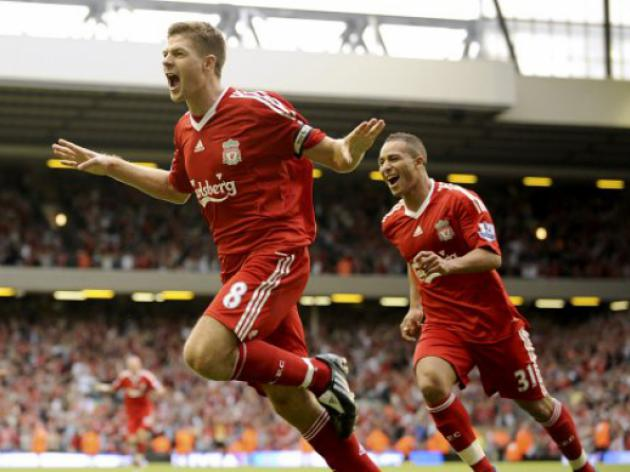 Liverpool's Steven Gerrard: 100 Not Out