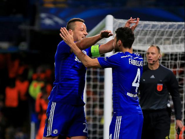 Blues romp into knockout stages