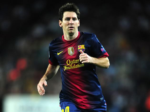 Messi breaks record with brace at Betis