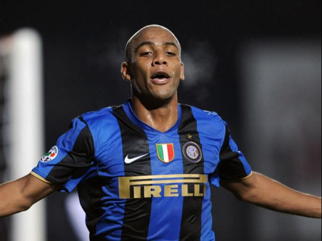 Maicon quashes Inter exit rumours