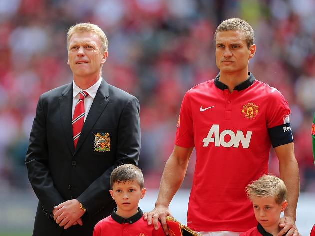 Moyes: Vidic decision was mutual