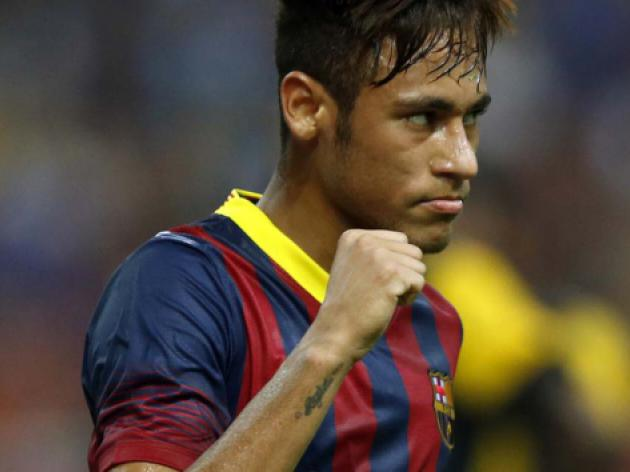 Neymar rescues Barca as injured Messi limps off