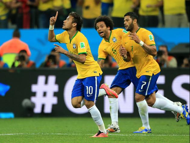 Neymar lights up World Cup opener