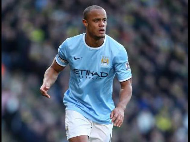 Kompany injury scare for Belgium