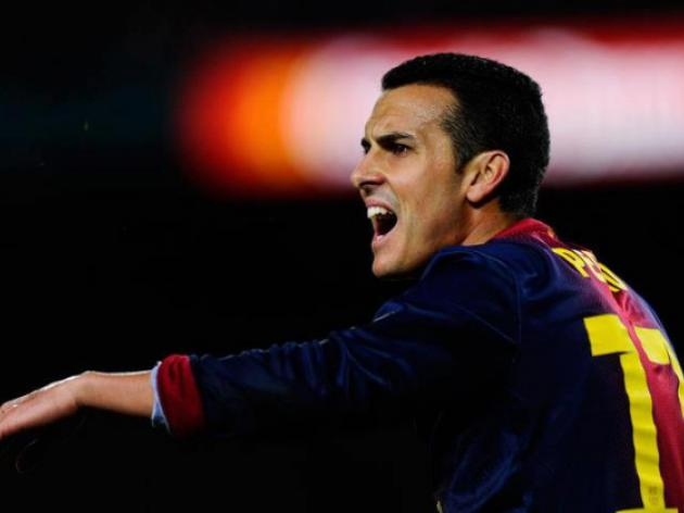 Barcas Pedro targeting 100 points in La Liga