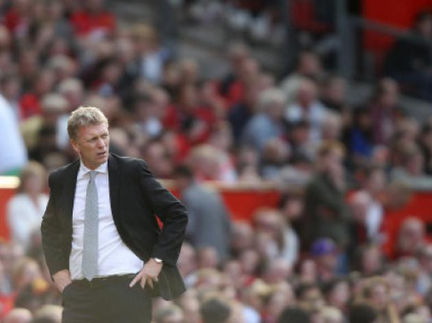 Toothless... David Moyes' Manchester United side have shown little ambition on the field