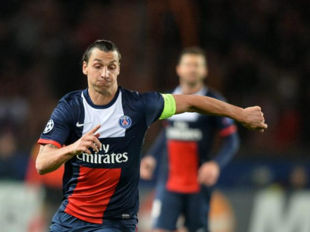 Ibra scores twice as PSG outclass Lyon