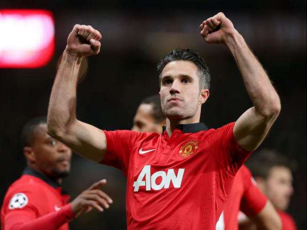 Manchester United 3-0 Olympiacos (3-2 agg) - Van Persie leads United to famous comeback