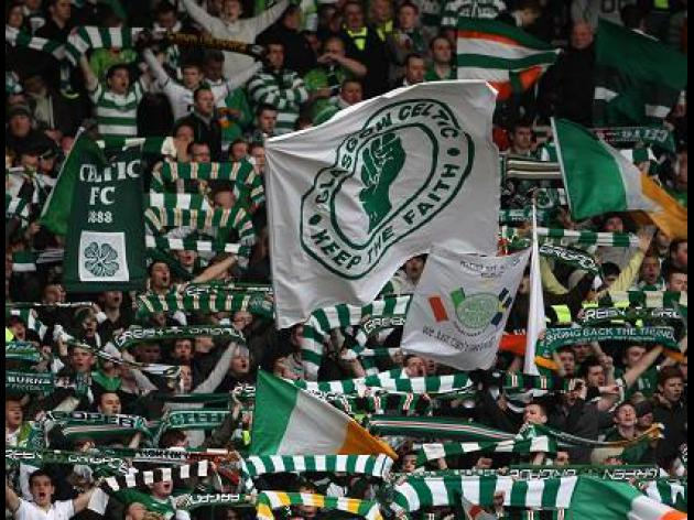 Celtic fans risk UEFA sanction