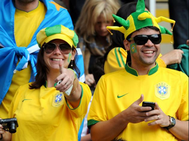 Brazilian fans can help or hurt World Cup hopes