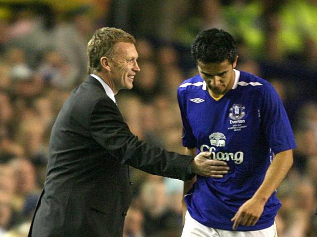Former Everton star Cahill pays tribute to old boss David Moyes