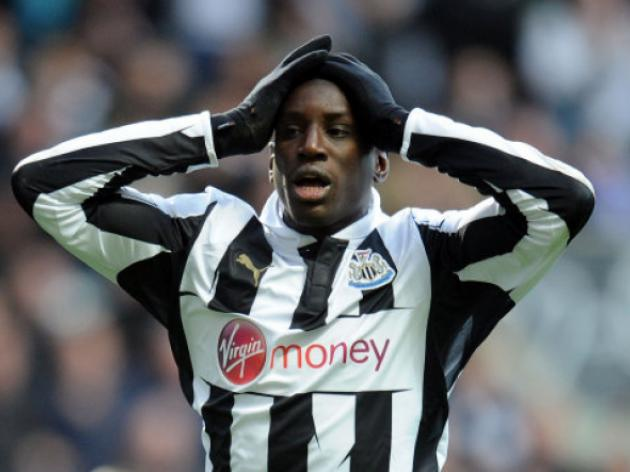 Newcastle striker Demba Ba up for Arsenal switch