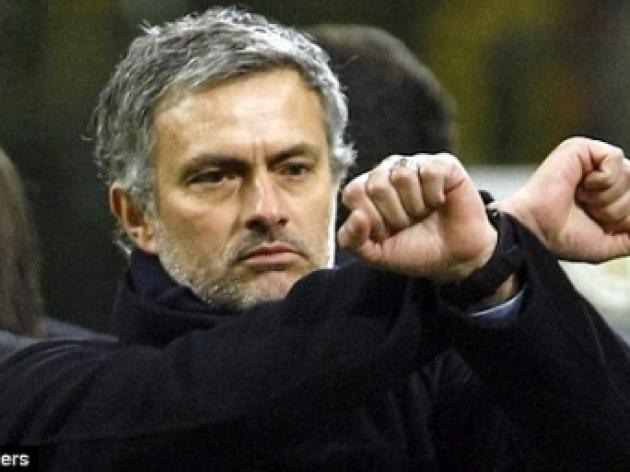 DES KELLY: Inter boss Mourinho is happiest in the role of panto villain...