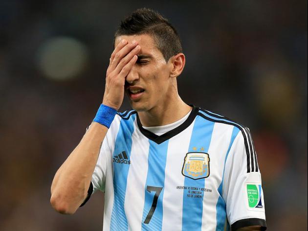 Di Maria blow for Argentina