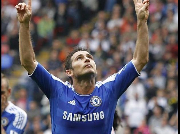 Lampard: Things are looking up