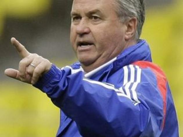 Hiddink free for Premier League return in summer after confirming Russia exit