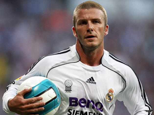 David Beckham linked with sensational return to Real Madrid