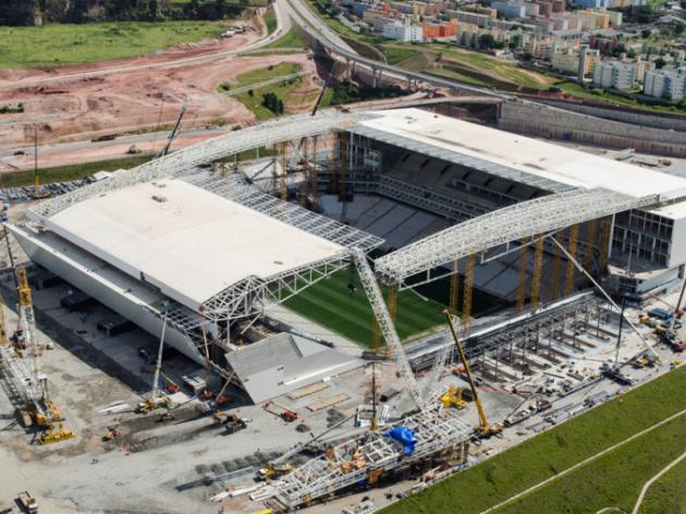 Sao Paulo says Corinthians Arena stadium will be ready for April